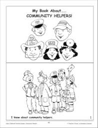 my book about community helpers  mini book   projects to try    my book about community helpers  mini book
