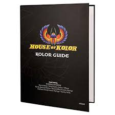 House Of Kolor Color Chip Sample Hardcover Guide Featuring