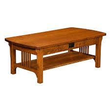 craftsman mission coffee table