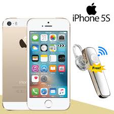 iphone 5s gold. apple iphone 5s-r 16gb gold - with free bluetooth 6 month warranty iphone 5s w