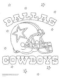 Dallas Cowboys Logo Coloring Page At Getdrawingscom Free For