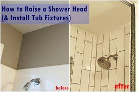 how to install a bathtub shower raise install shower fixtures tutorial install bathtub shower combo installing