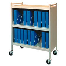 Medical Chart Carts With Vertical Racks Chart Cart Cabinet With Vertical Racks