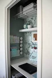 office in closet ideas. Closet Turned Craft/office Space***yes*** Good Ideas For Small Closets. Office In