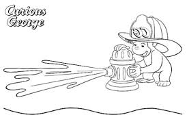 curious george coloring pages beautiful curious george coloring pages fireman free printable coloring pages