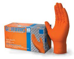 Gloveworks Featuring Raised Diamond Texture Ammex
