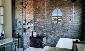 grey natural stone bathroom tiles. natural stacked stone veneer example grey bathroom tiles a