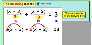 hard equations with fractions and brackets
