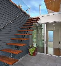 exterior metal staircase prices. suspended style: 32 floating staircase ideas for the contemporary home exterior metal prices l