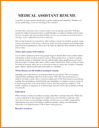Resume Examples Wallpaper Medical Assistant Resume Objective