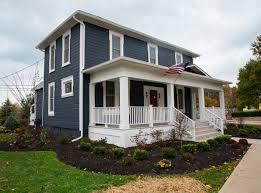 Small Picture Navy Blue Home Exterior Paint Color Benjamin Moore Newburyport