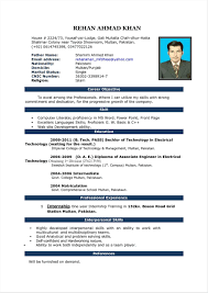 Latest Resume Format For Accountant Inia Freshers Doc Experienced