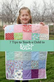 My Daughter's First Quilt | Child, Daughters and Sewing projects & My Daughter's First Quilt Adamdwight.com