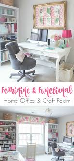 pictures home office rooms. Form Meets Function In This Gorgeous Space, A Combination Craft Room And Feminine Home Office Pictures Rooms R