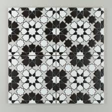 Black And White Patterned Floor Tiles Inspiration Introducing Our Black And White Handpainted Collection Fireclay Tile