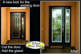 single glass door single glass door exterior single glass door