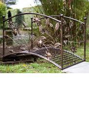 EziBuy :: Outdoors - Wrought Iron Garden Bridge - EziBuy New Zealand