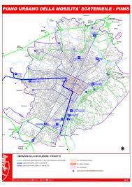 Blocco traffico Torino - piantina percorsi consentiti