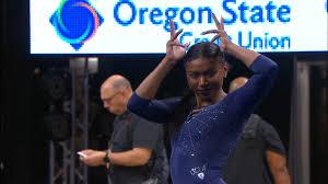 Recap: Nia Dennis and an excellent beam performance propel No. 3 UCLA  women's gymnastics past No. 18 Oregon State