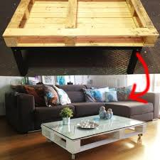 American Flag Pallet Top Bench Coffee Table  Pallet Coffee Tables Pallet Coffee Table Pinterest