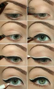 easy step by step eye makeup tutorial for green eyes