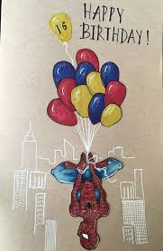 Top spiderman coloring pages for kids: Spiderman Superhero Cartoon For Birthday Card Candacefaber