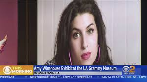 Amy Winehouse Exhibit Opens At LA's Grammy Museum