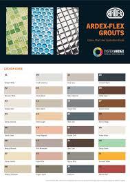 Ardex Flex Fl Grout 32 Different Colours Fast Delivery