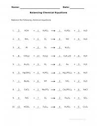 entrancing balancing chemical equations worksheet google search science answer key 1 10 f448107a98db35823a137149be1 balancing chemical equations