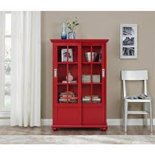 bookcases with doors inside well known ameriwood home abel place white glass door bookcase hd51330