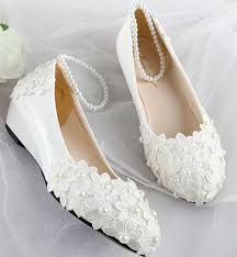 women wedding shoes white wedges mid low high heels lace handmade Wedding Shoes Handmade women wedding shoes white wedges mid low high heels lace handmade pearls beading bridal pumps shoe pearl bracelet party pump in women's pumps from shoes on wedding shoes handmade