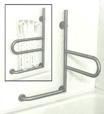 bathroom grab bars shower folding bathtub safety bar assistance comme bathtub grab bar