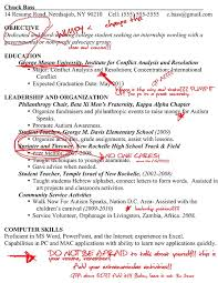 Does A Resume Need An Objective Rejected Resumes Your First Time College Magazine 9