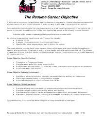 Resume Objective Ideas Noxdefense Com