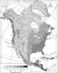 КЛИМАТ СЕВЕРНОЙ АМЕРИКИ Среднегодовое количество осадков в Северной Америке мм