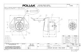 pollak trailer wiring diagram wiring diagram and schematic design pollak trailer wiring diagram wire installing a 7 blade rv connector on ford expedition blue oval