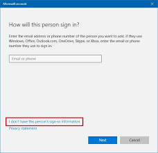 Creat E Mail How To Create A Windows 10 Account Using Any Email Address