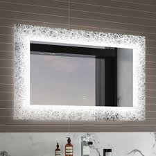 Large Light Mirror 900x600mm Celestial Designer Illuminated Led Mirror Switch