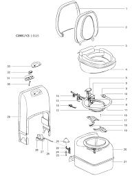 Caravansplus spare parts diagram thetford c200 s cs and wiring