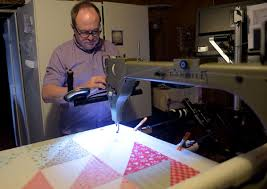 Featured by the St. Joseph News Press – QUILTING BY DAVID