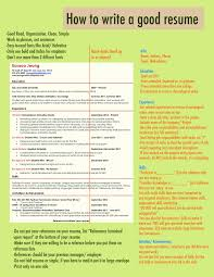 How To Write A Resume How to write a good resume Cover Latter Sample Pinterest 50