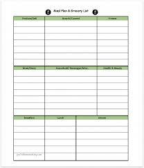 Free Printable Menu Planner And Grocery List Joyful Homemaking