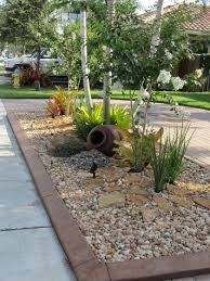 Small Picture Rock garden front yard Landscaping Pinterest Front yards
