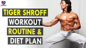 Tiger Shroff Diet Plan Chart Tiger Shroff Workout Routine Diet Plan Health Sutra