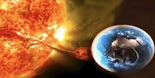 Resultado de imagen de luz al planeta llamarada solar