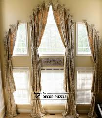 French Window Curtains And Blinds