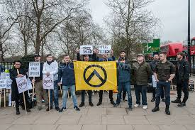 Generation Border Far And Rally To Gather Martin Group Addressing Against At Whom Identity Pettibone Be Were The Hyde Uk Activists Detaining Park Right In Supporters Supposed An Of Nsults With Brittany Traded They Sellner Racist Protest