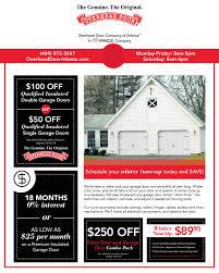 atlanta garage door repair specials deals s