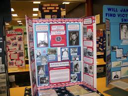 examples of poster board projects history fair display board examples