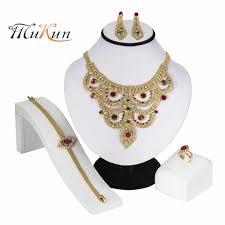 MUKUN <b>Bridal Jewelry</b> Sets <b>Gold Color</b> Jewelry Set Trendy ...